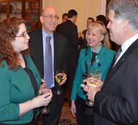 Dara Baker, Rodney Ross, Maarja Krusten, David S. Ferriero, National Archives, 2012 (photo by Bruce Guthrie)