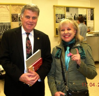 David Ferriero, Maarja Krusten, NARA, A1 November 4, 2011