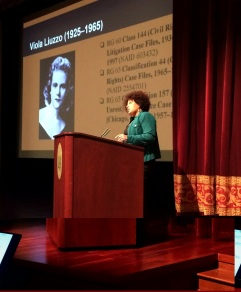 Dr. Tina Ligon, NARA McGowan Theater Know Your Records presentation, Liuzzo 021215 3 c