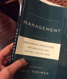Kate Theimer's book, NARA McGowan Theater, 030217