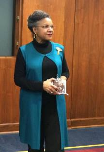 A'Lelia Bundles speaking about Madam C. J. Walker