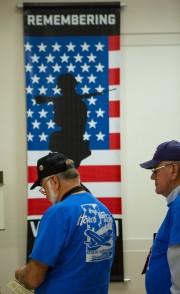 Utah Vietnam Veteran Honor Flight members, National Archives, 10 November 2017