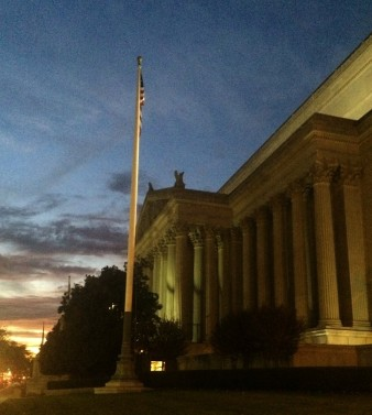 the-national-archives-museum-side-evening-walk-november-2014