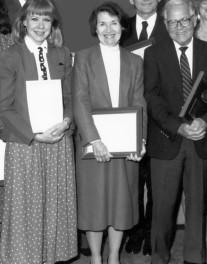 Maarja Krusten, left, Roger Trask, right, Washington, DC, 1990
