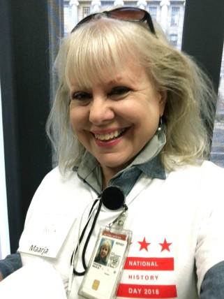 Maarja, DC NHD competition staffing, NARA, 12 April 2018