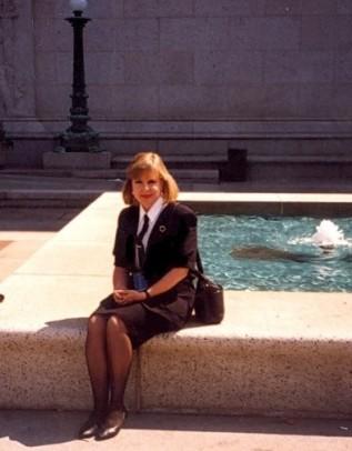 Eva Krusten, NARA supervisory archivist, A1, 1995