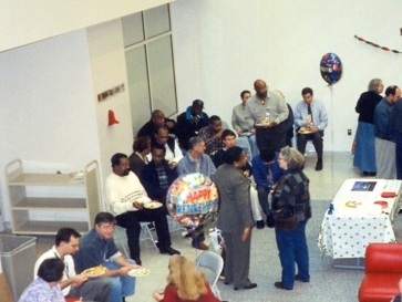Declass Christmas party, 14 December 2001
