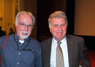 Ken Hawkins, David Ferriero, NARA, 8 May 2018 (Bruce Guthrie photo)