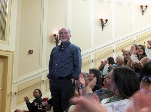 Ken Hawkins, recognition by AOTUS David S. Ferriero, SOUZA1_180508_153, photo by Bruce Guthrie