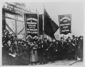 Protests after Traiangle Shirtwaist Factory fire