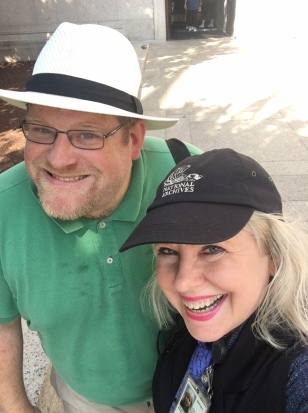 Brad Houston, Maarja Krusten, NARA, 15 August 2018
