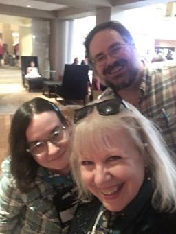 Rachel, Maarja, Dave SAA 17 August 2018