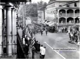 Cecil County History FB, 30 November 2018, Ekjtib oarade scene from MD State Archives (Robert G. Merrick Collection)