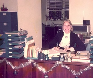 Maarja, office, ca. 1975