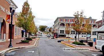 Cecil County History FB, 30 November, Elkton, Main Street, 22 October 2016