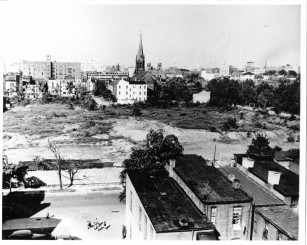 gao building site (square 518) at the end of world war ii
