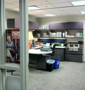 office from doorway