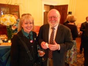 Maarja Krusten and David McMillen, NARA A1, May 10, 2012