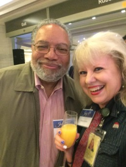 Lonnie Bunch and Maarja, 070416