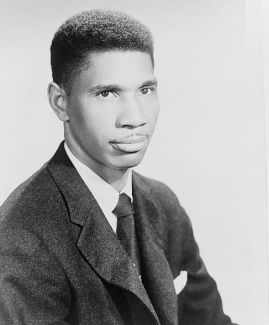 Medgar Evers, Photograph, between 1950 and 1963. NAACP Records, Prints and Photographs Division, Library of Congress