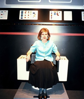 Maarja, Star Trek exhibit, Smithsonian, 1992