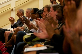 Eric Holder, NARA, McGowan Theater, July 29, 2014