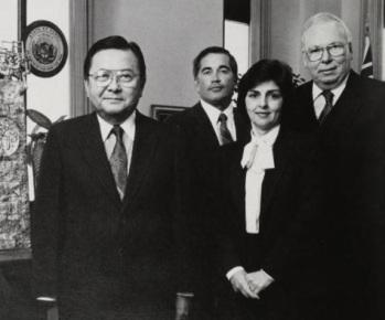 Olga Johnson, Comptroller General's Annual Report, 1987