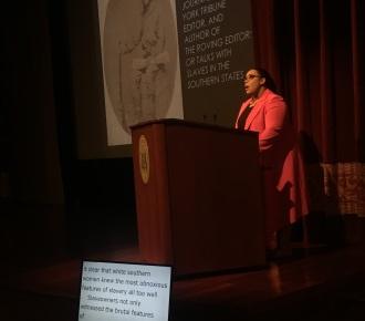 Dr. Stephanie E. Jones-Rogers, book lecture, NARA, 29 April 2019