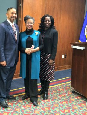 GAO Blacks in Government event in 2015 about Madam C. J. Walker