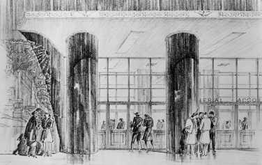 GAO Building_facade_sketch_c1946-47