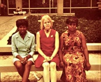 Maarja and colleagues, first Federal job, undergraduate history major