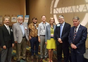 David Ferriero and the NARA team, NAGARA conference, July 2017