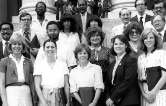 Maarja and National Archives White House records move team, award photo